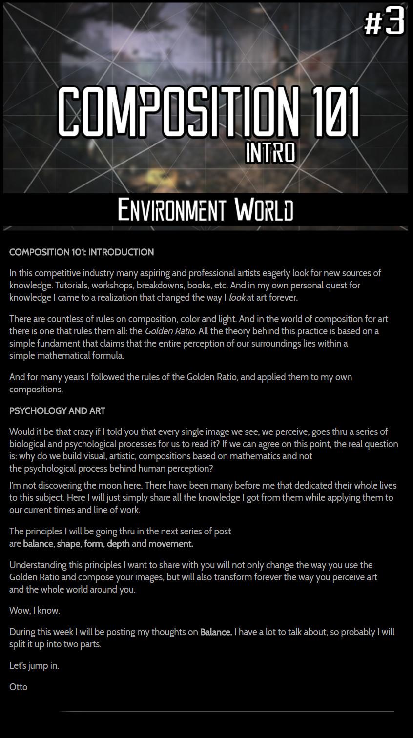 Otto ostera 01 otto ostera environment world 3 introduction composition101