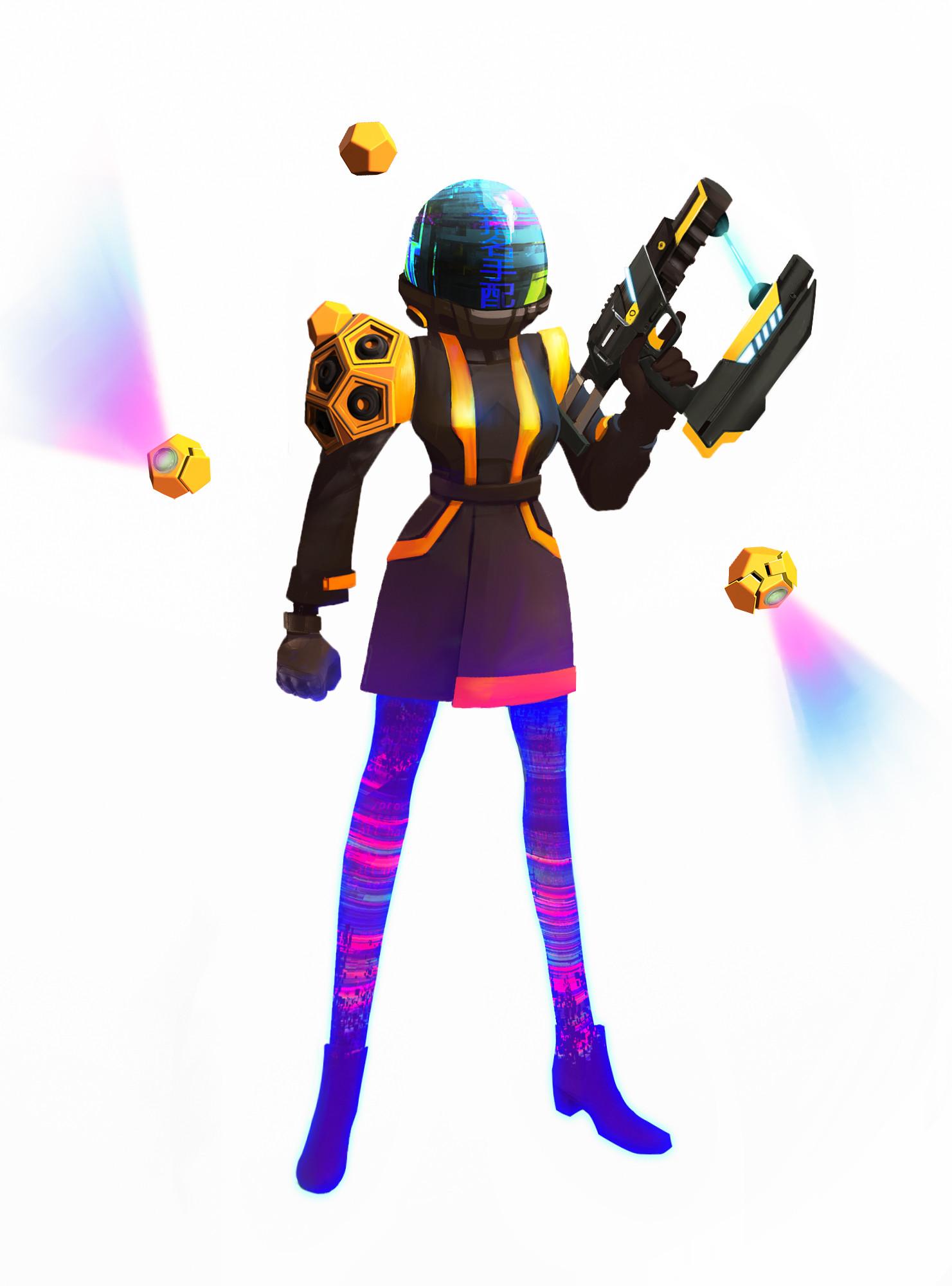 Sci-fi Bounty Hunter