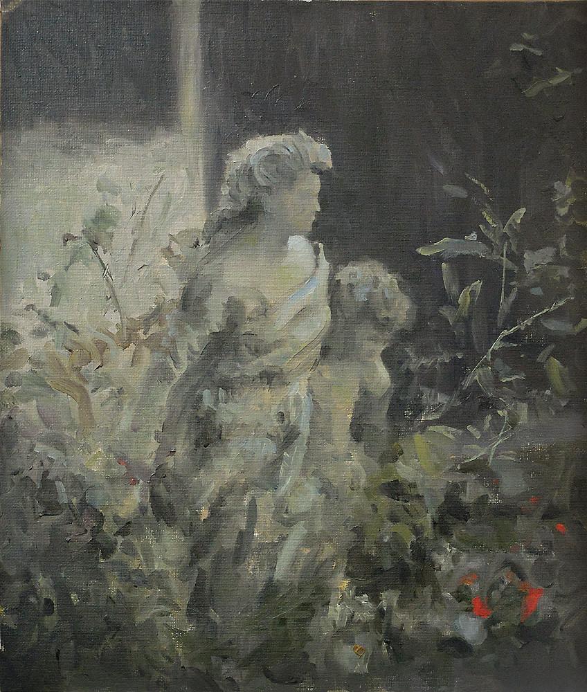 Gilles beloeil 0059 2014 statue parmi les fleurs 12x14 all lr