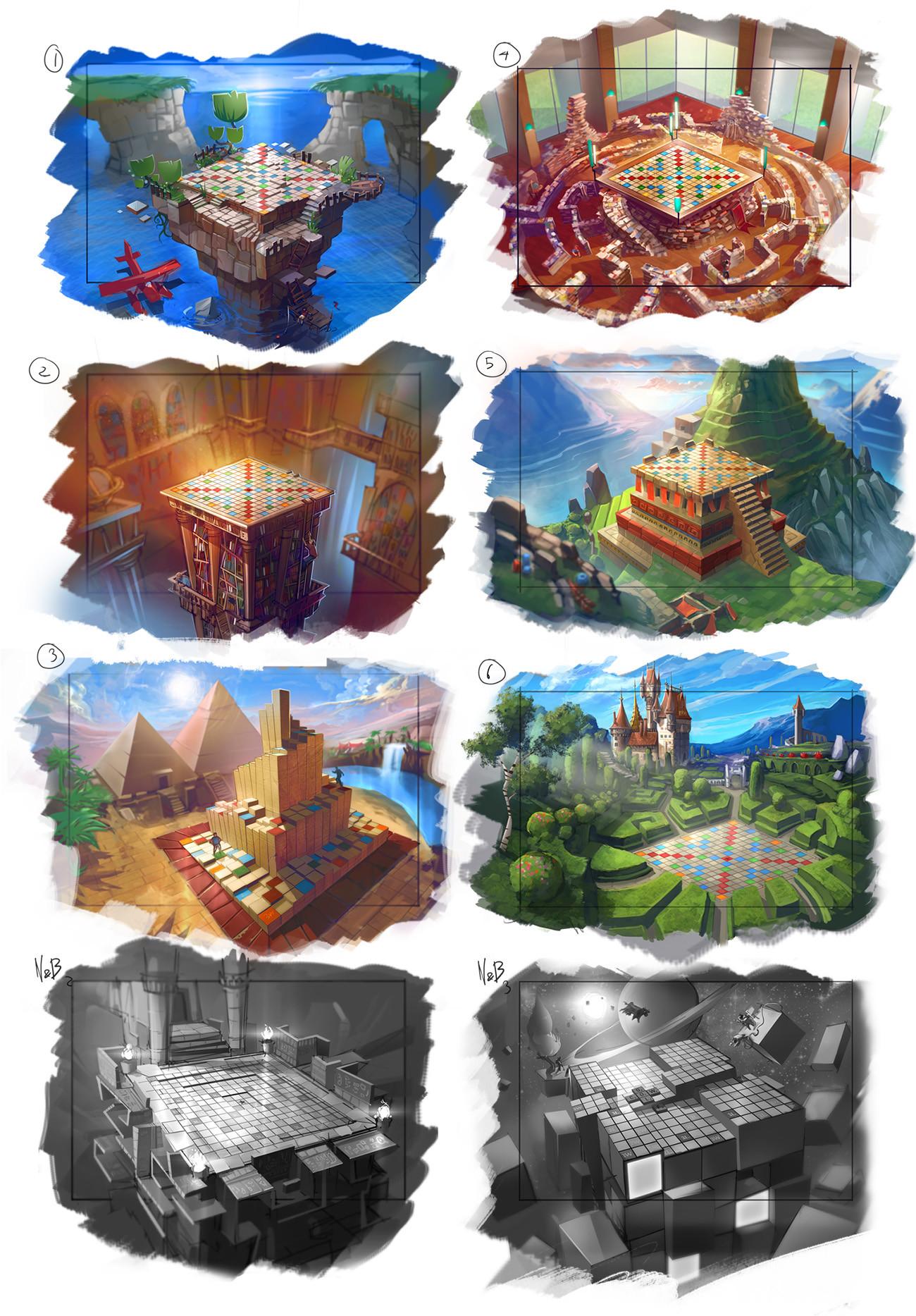 Mathieu chevalier concepts 3d