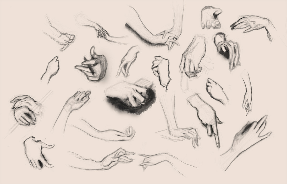 Gilles beloeil hands studies from sargent s paintings