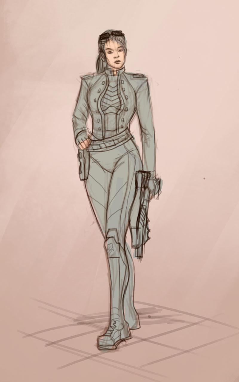 Gabriela shelkalina sketch with fill