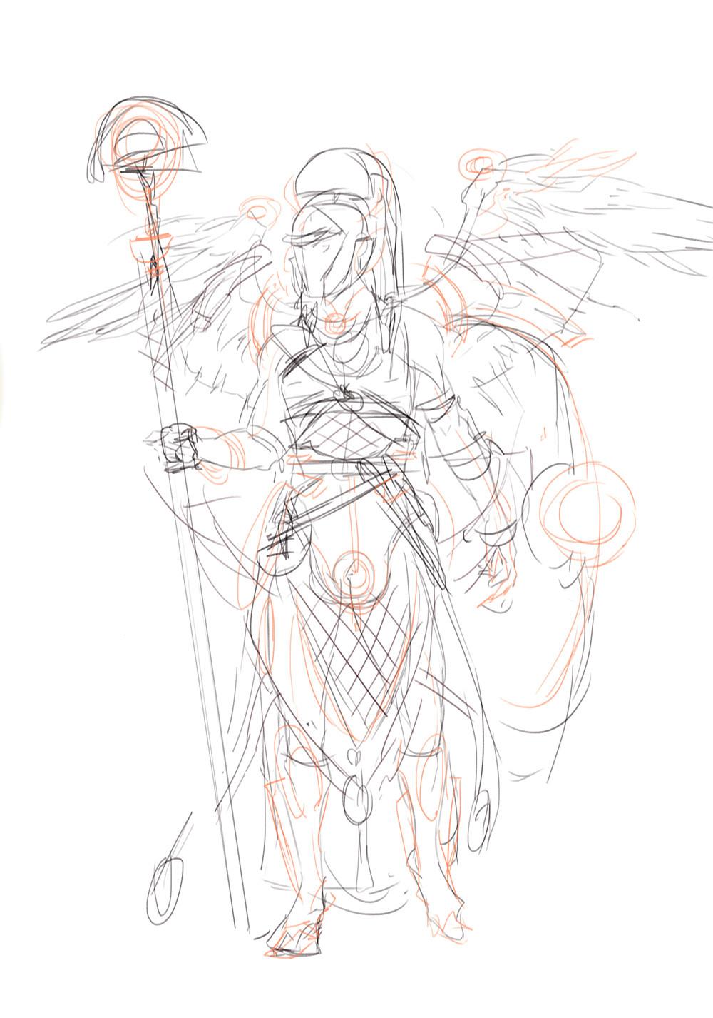 Magdalena radziej sketch