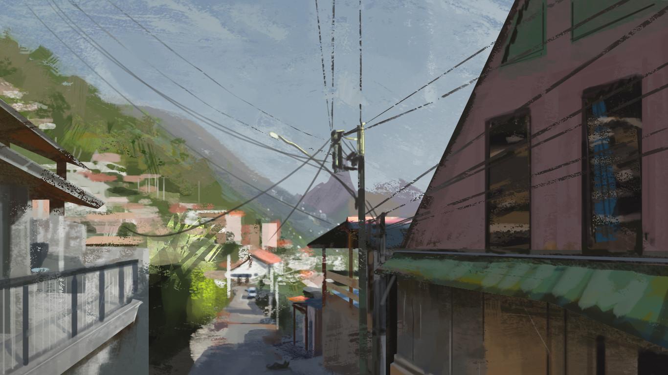 Quentin castel virtual plein air2
