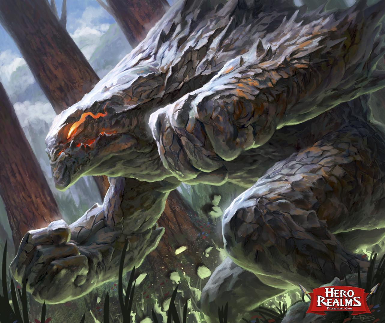 Hero Realms - Ruin of Thandarr - Stone Golem