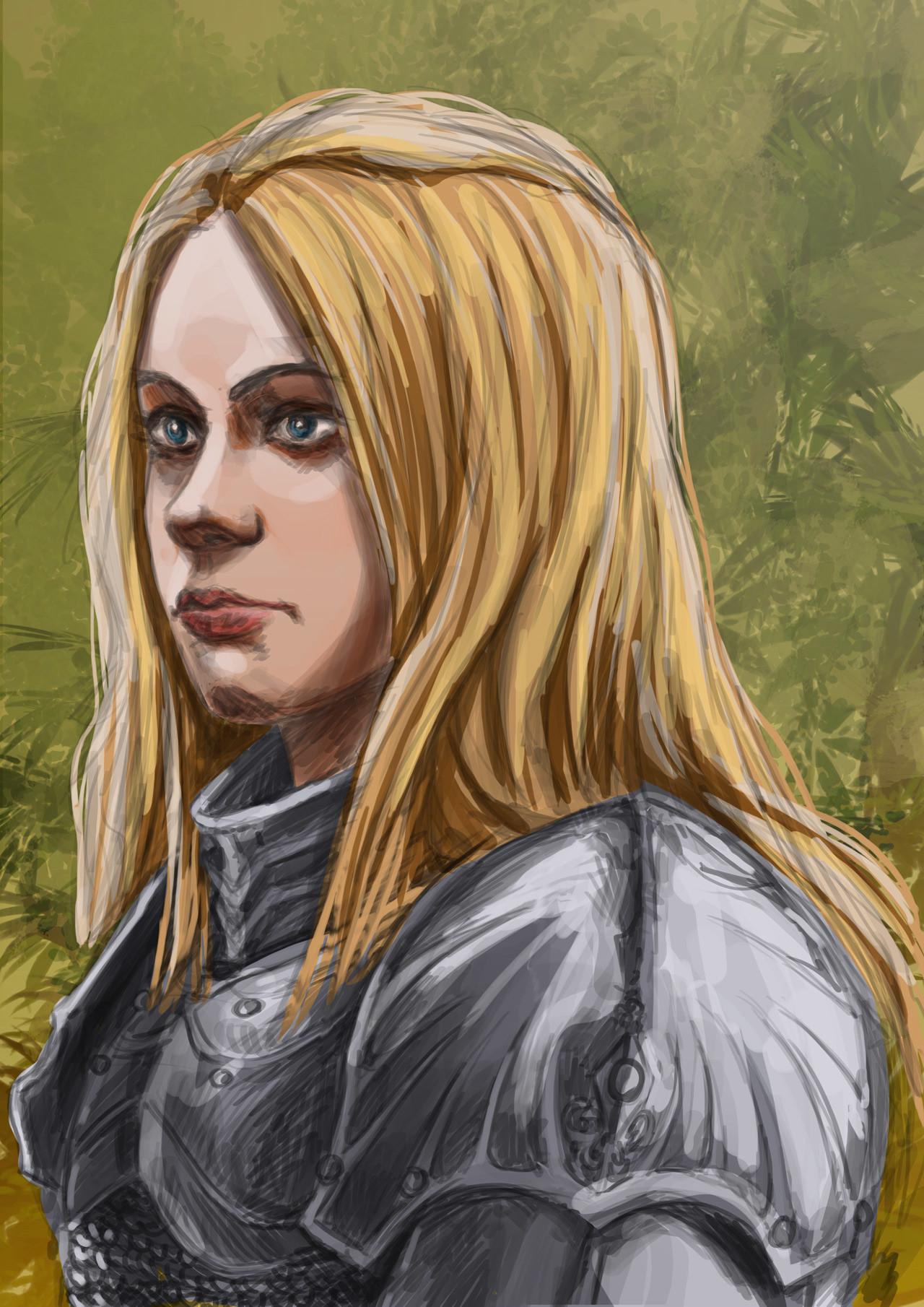 Axelle bouet femal warrior3