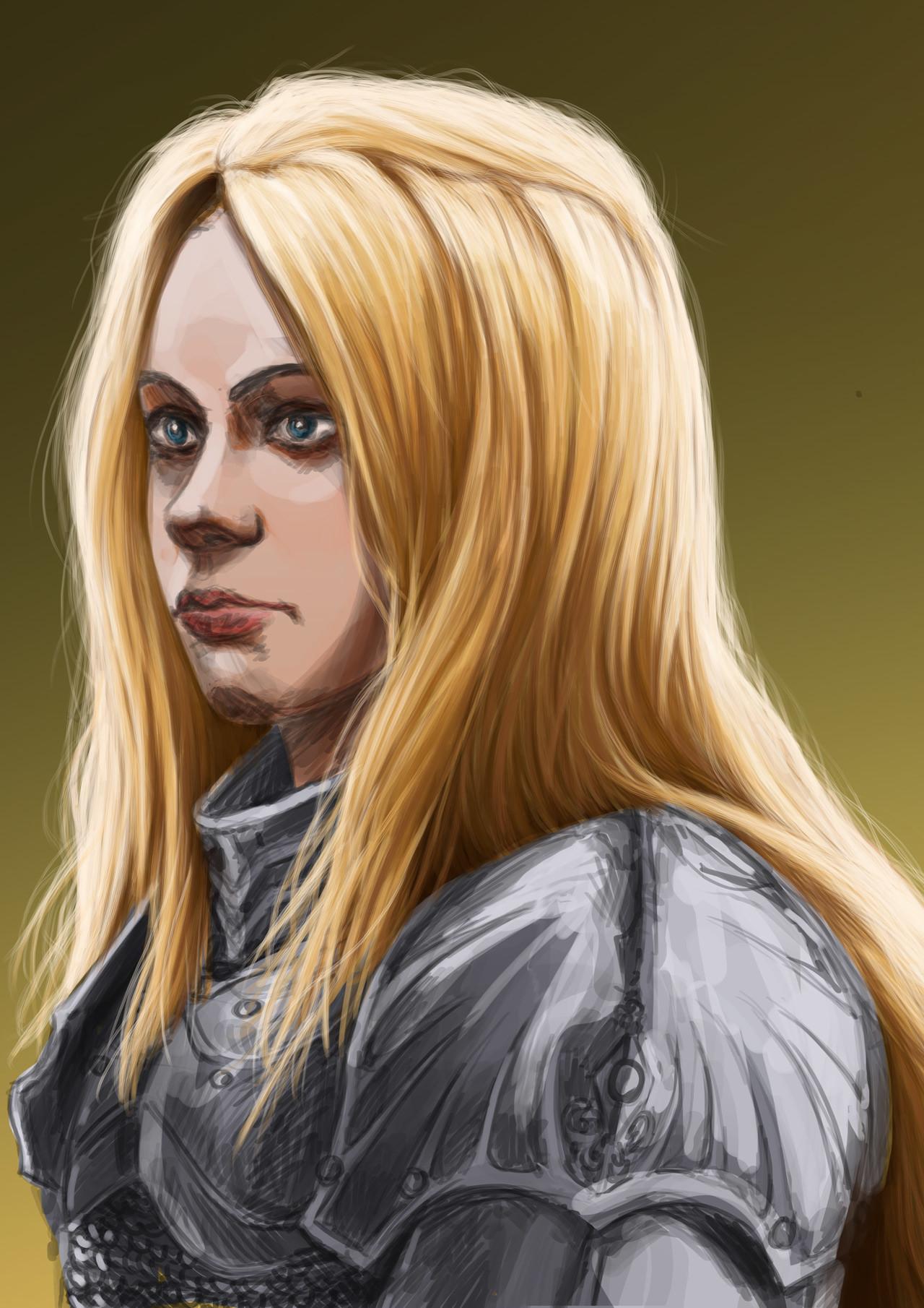 Axelle bouet femal warrior5