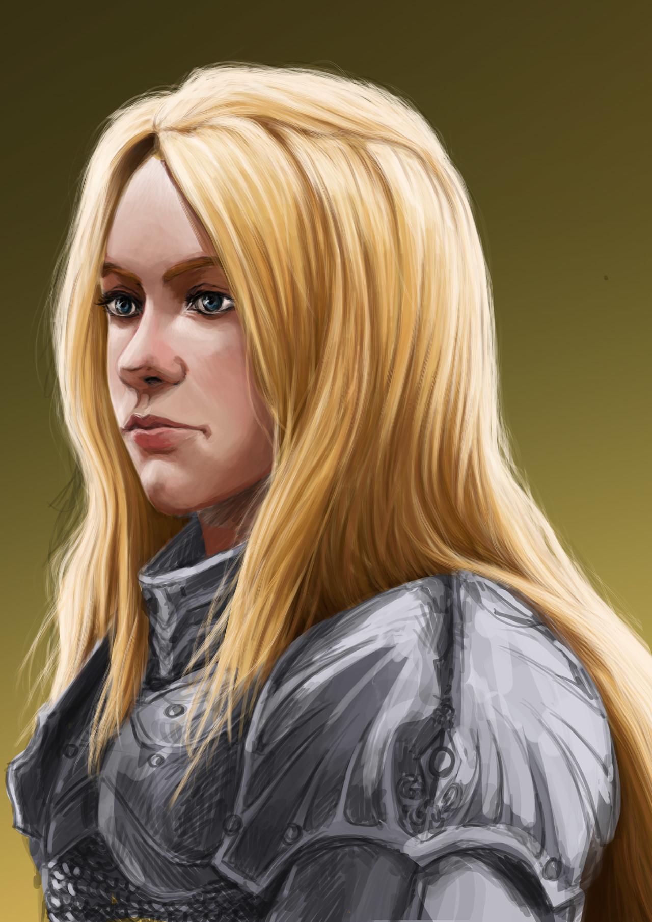 Axelle bouet femal warrior6