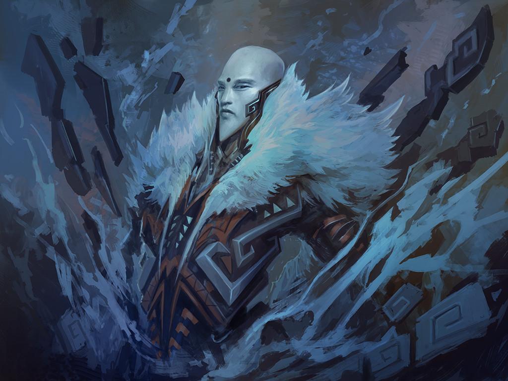 Alexandre chaudret paw illustration snow stepsf