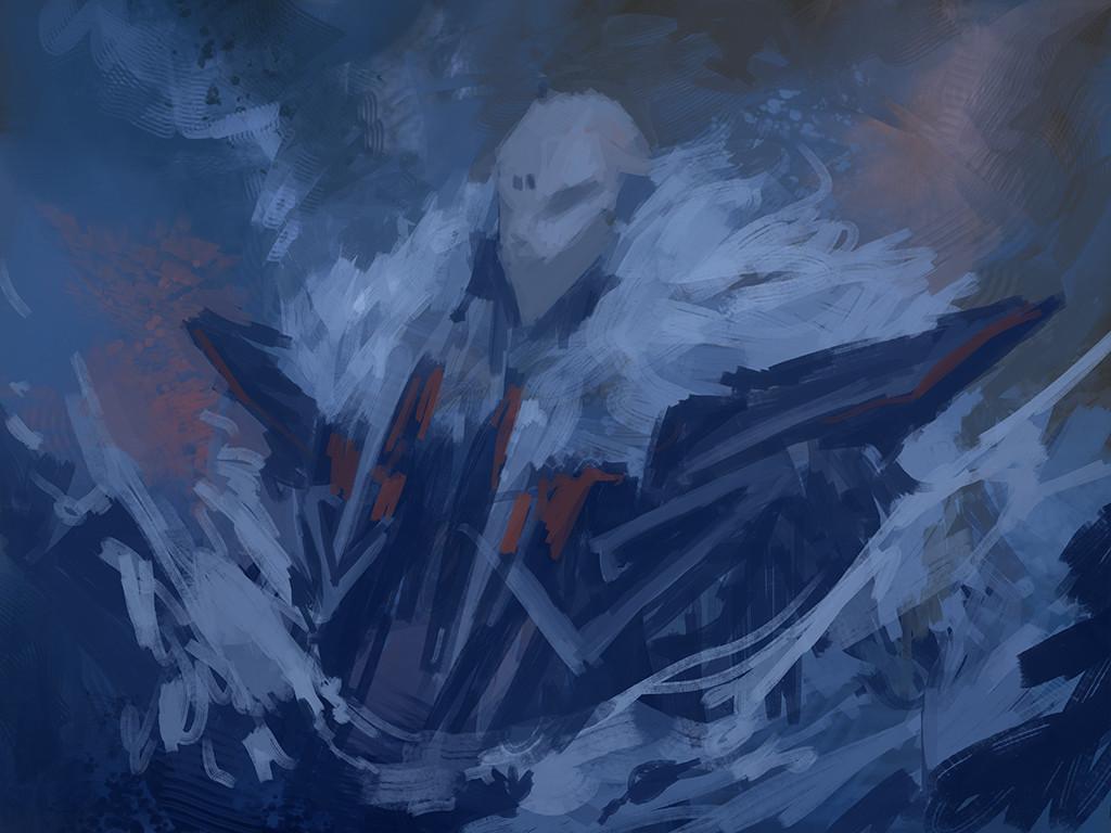 Alexandre chaudret paw illustration snow stepsc
