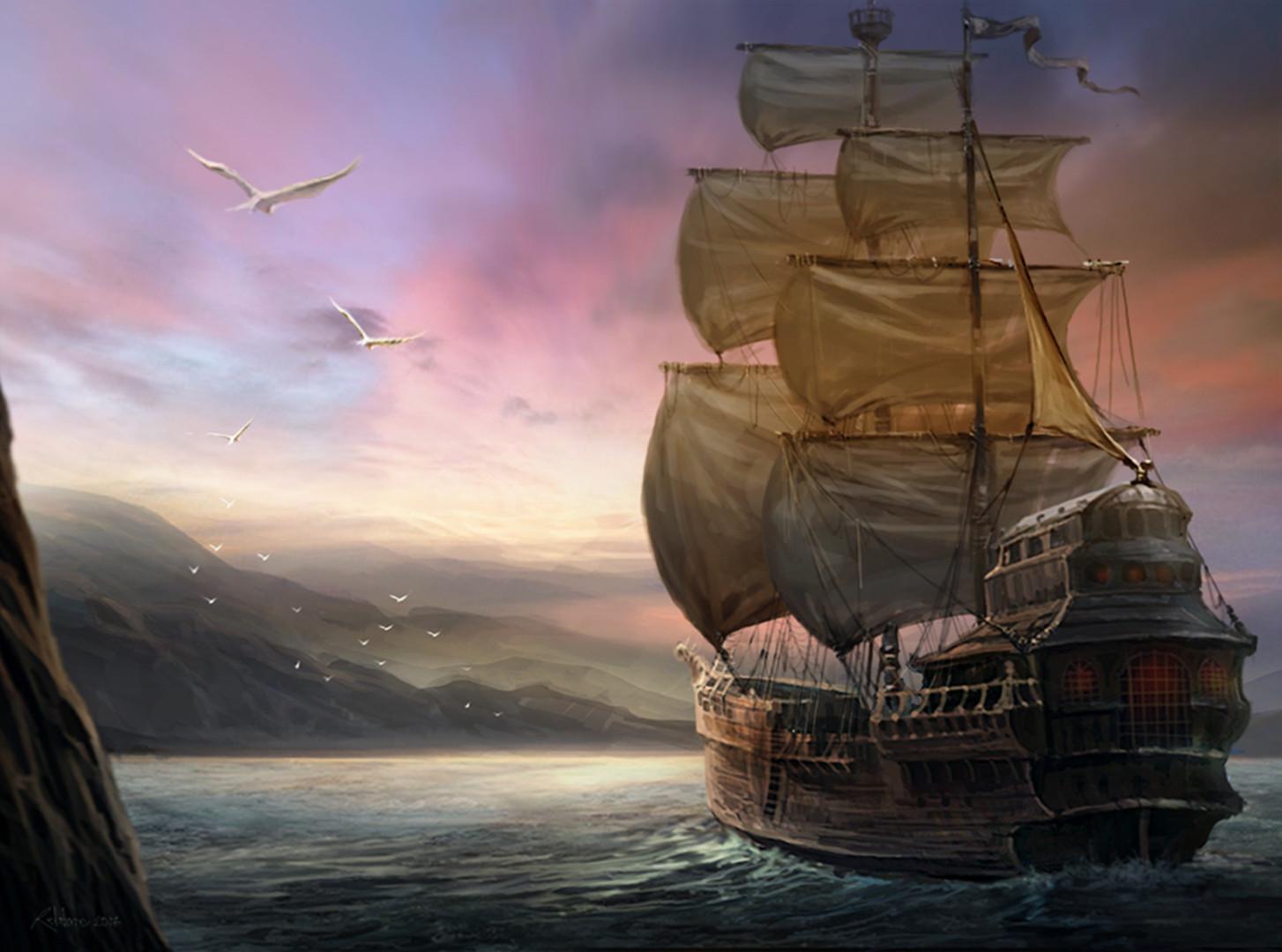 Chalmer relatorre pirate ship
