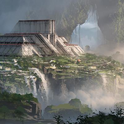 Tu bui temple on mountain