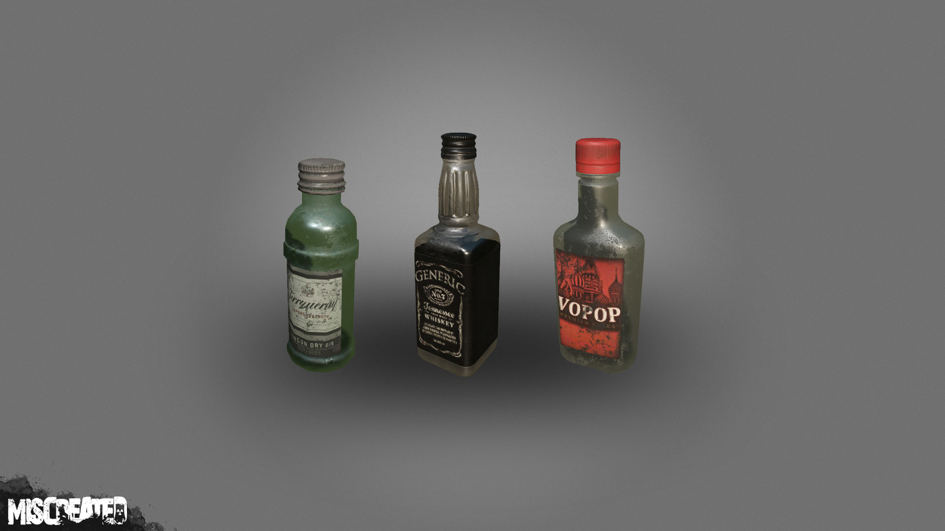 Carl kent alcohol bottles