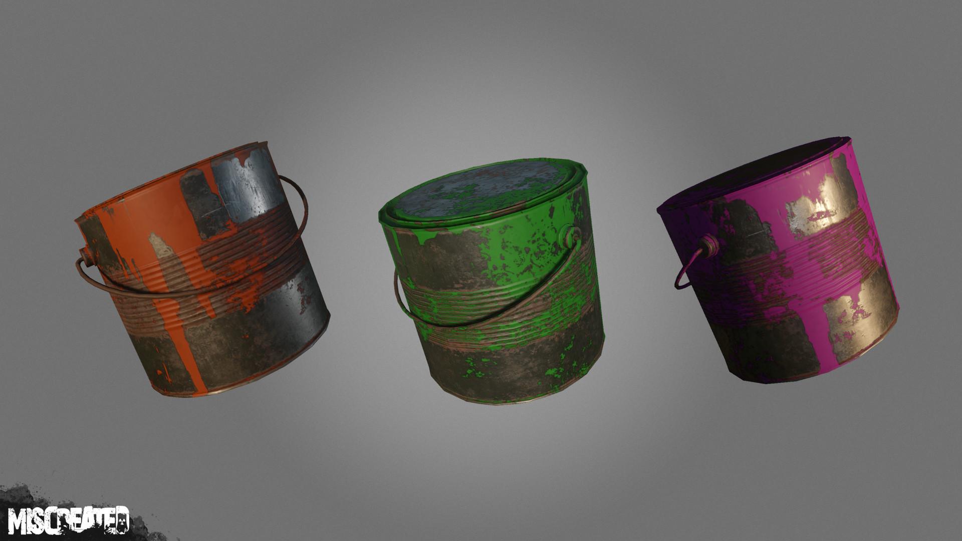 Carl kent paint cans 1