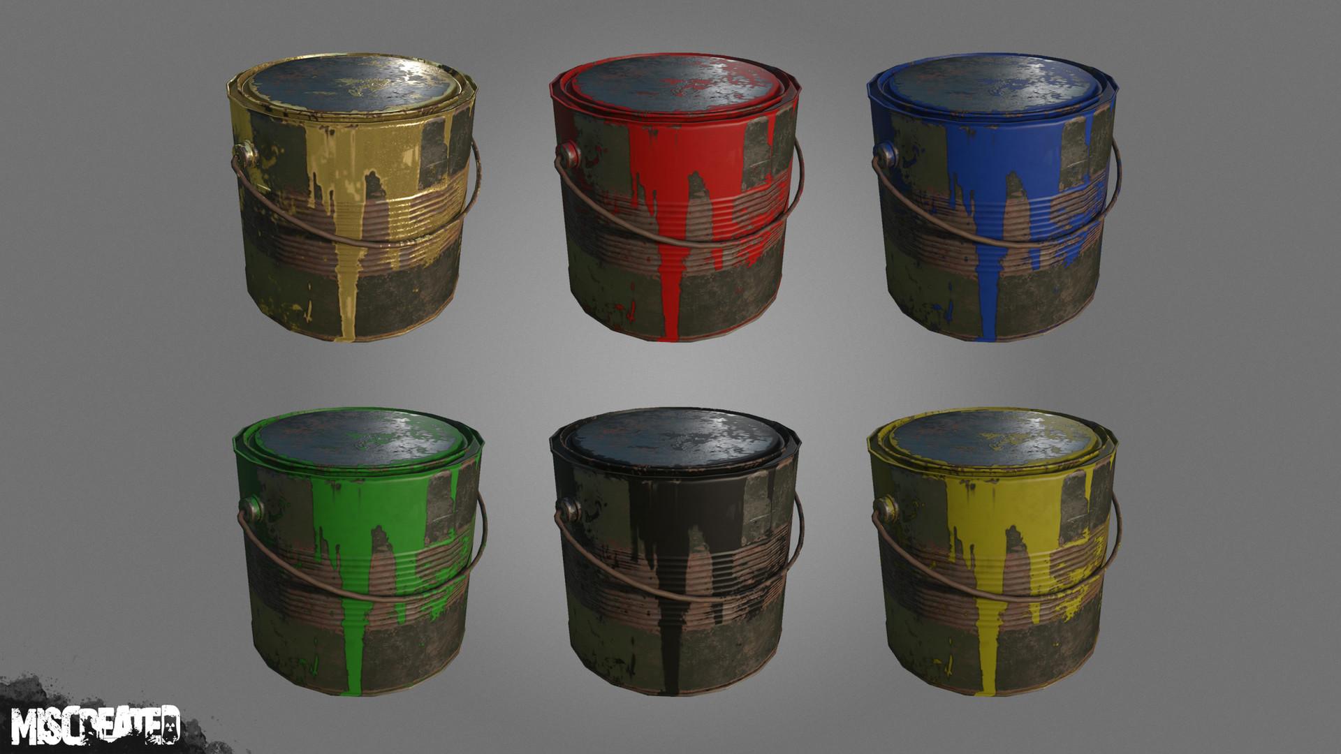 Carl kent paint cans 2