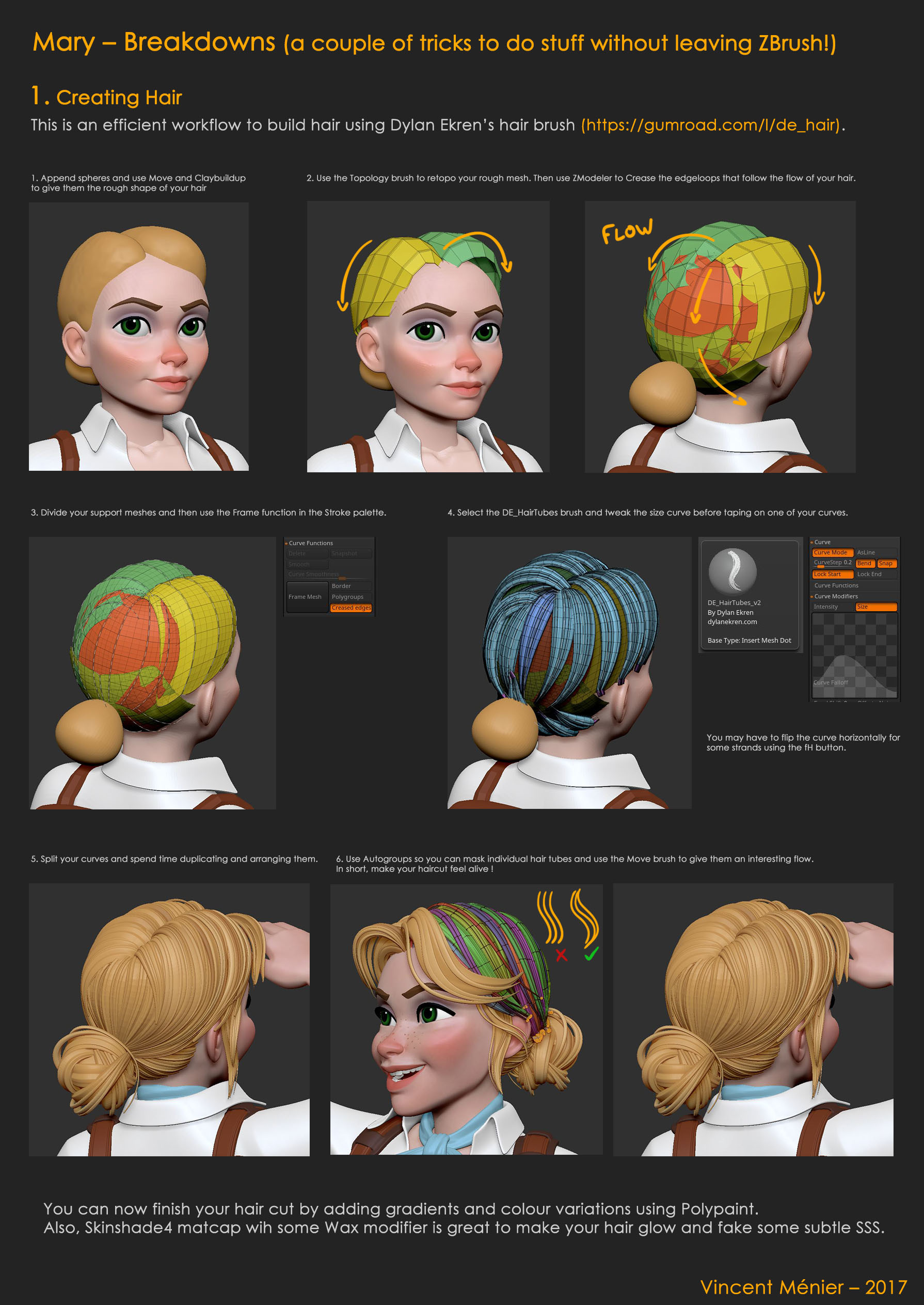 Vincent menier mary breakdown 01 hair s