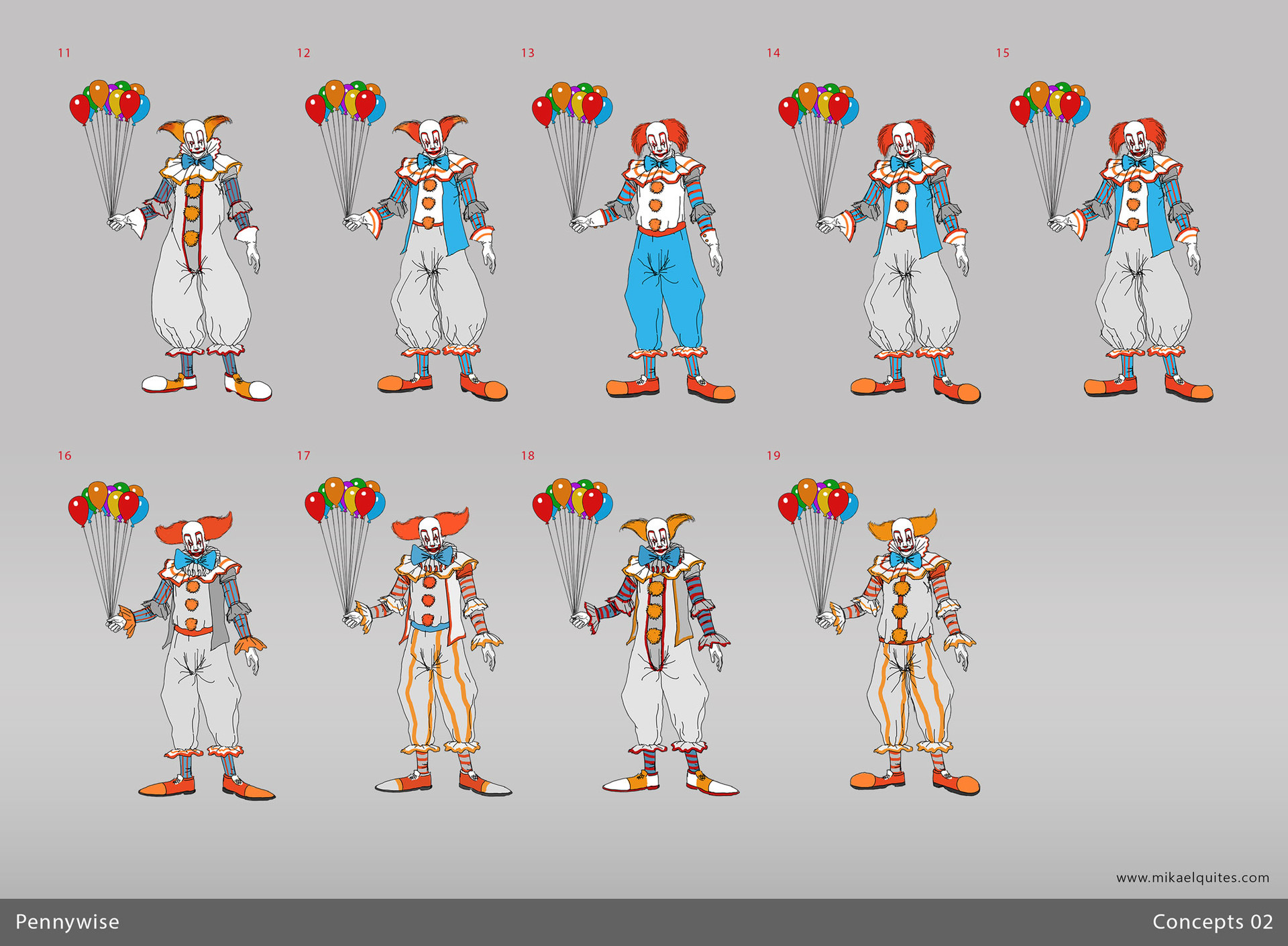 Mikael quites pennywise concepts all2