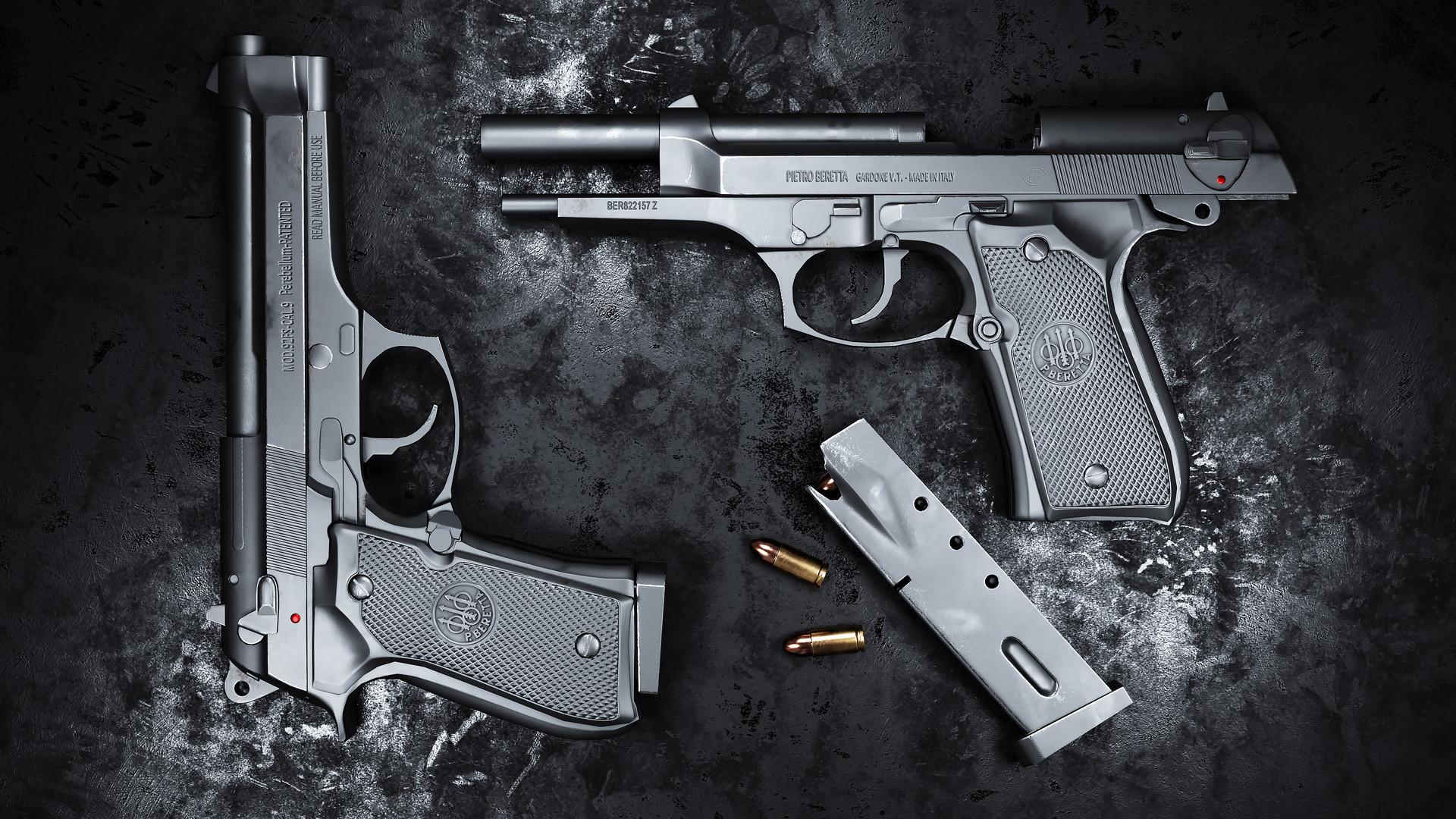 Beretta 92fs Game Model
