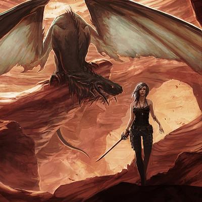 Kayla joncas dragonrogue artstation2