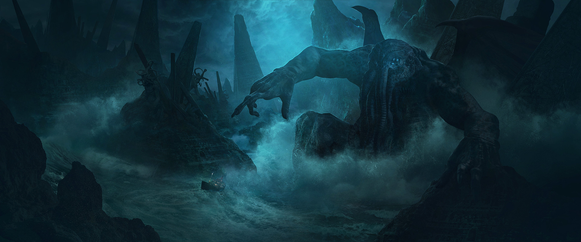 H.P. LOVECRAFT The Fear from beyond - The rise of Cthulhu