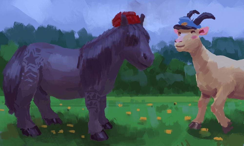 Devin platts shetland pony