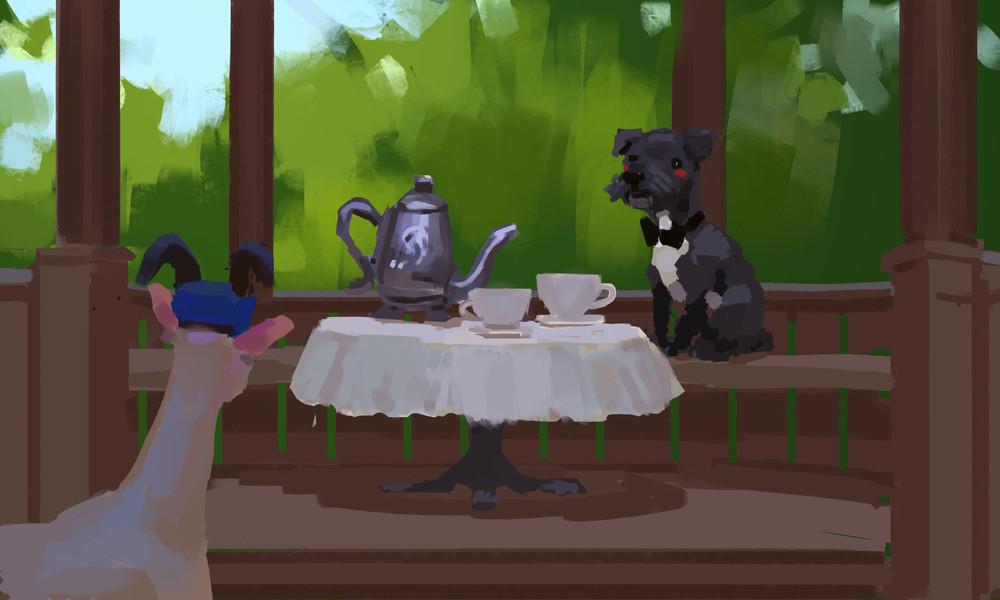 Devin platts puppy tea