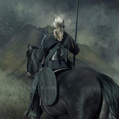 Cecilia g f into battle