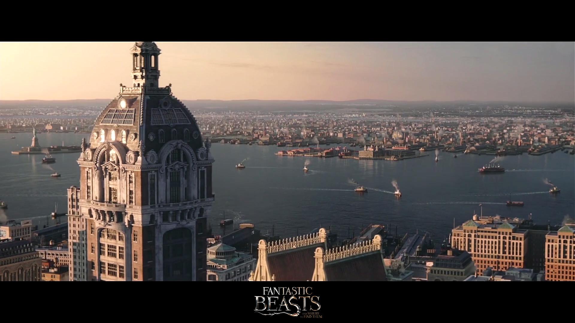 Fantastic Beasts - Environment Modeling / Texturing