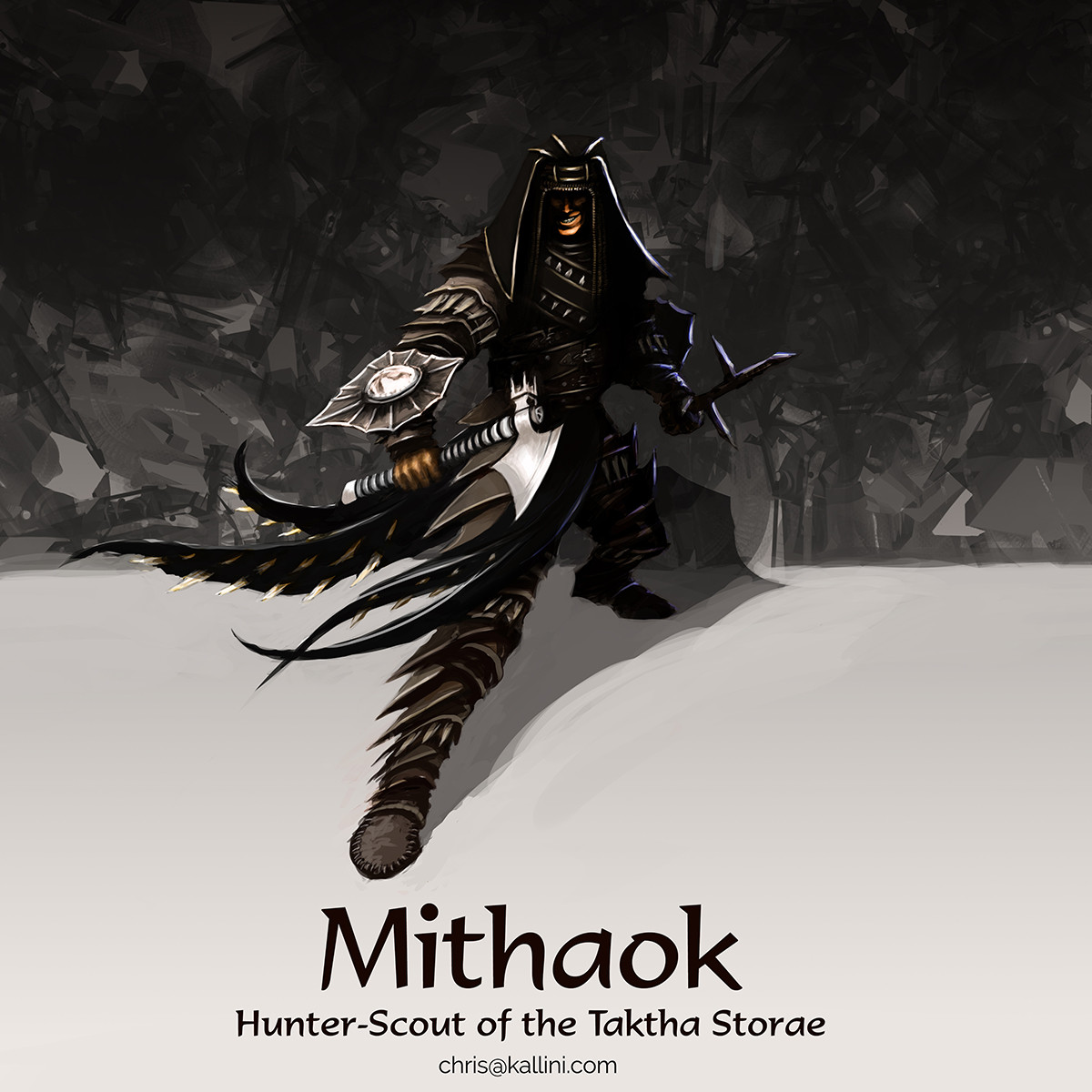 Mithaok, Hunter-Scout of the Taktha Storae