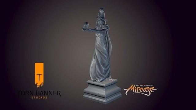 Mirage: Arcane Warfare Statue