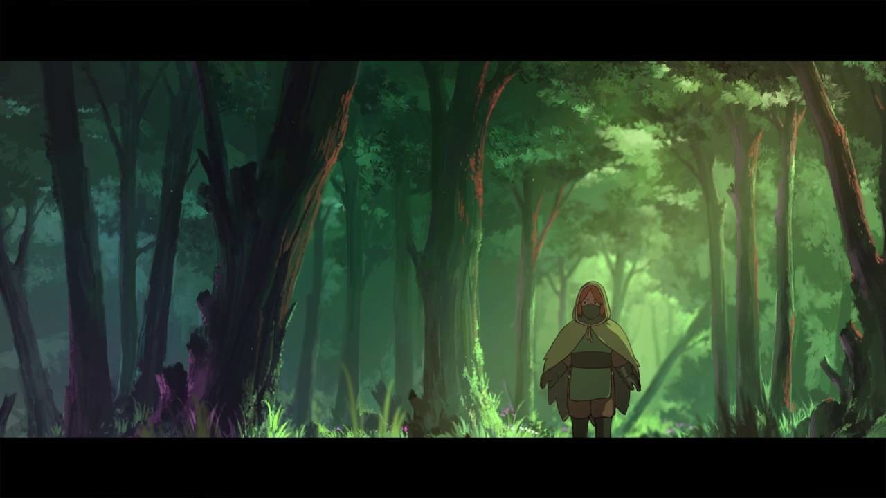 The Departed - Through the Tranquil Forest (Animation)
