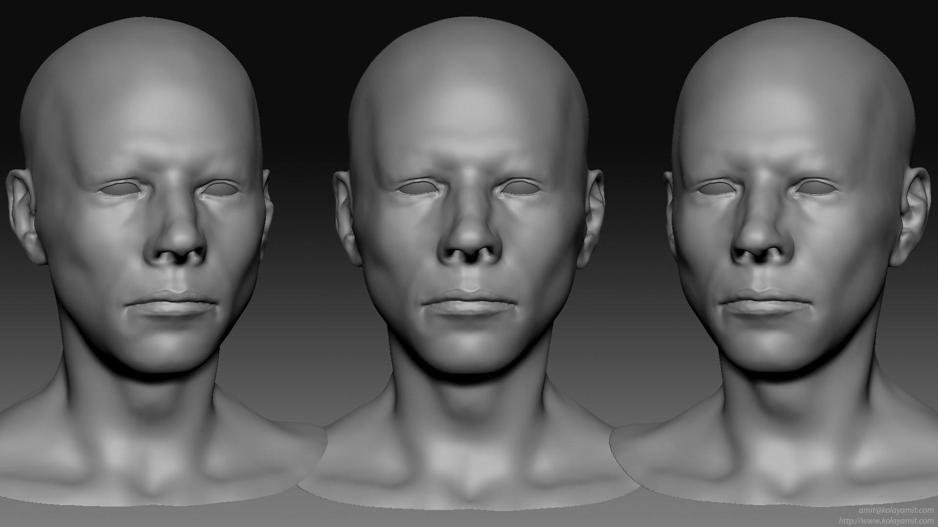 Head Sculpt One Timelapse
