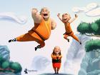 3 monks show