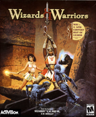 14860 wizards warriors windows front cover